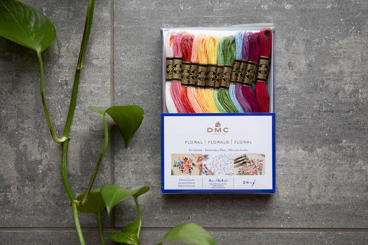 DMC Moulinégarn Florals - set med 24 färger