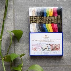 DMC Moulinégarn Must-haves  - set med 24 färger