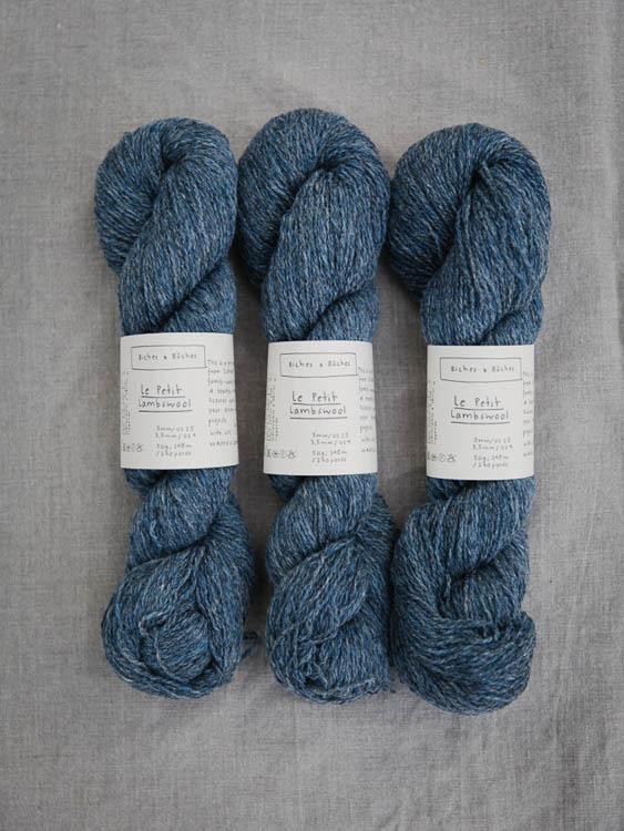 Biches & bûches Le Petit Lambswool -  brittiskt lammullsgarn