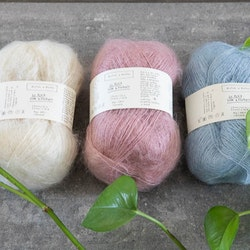 Biches & bûches Le Petit Silk Mohair - lyxigt silk- och mohairgarn