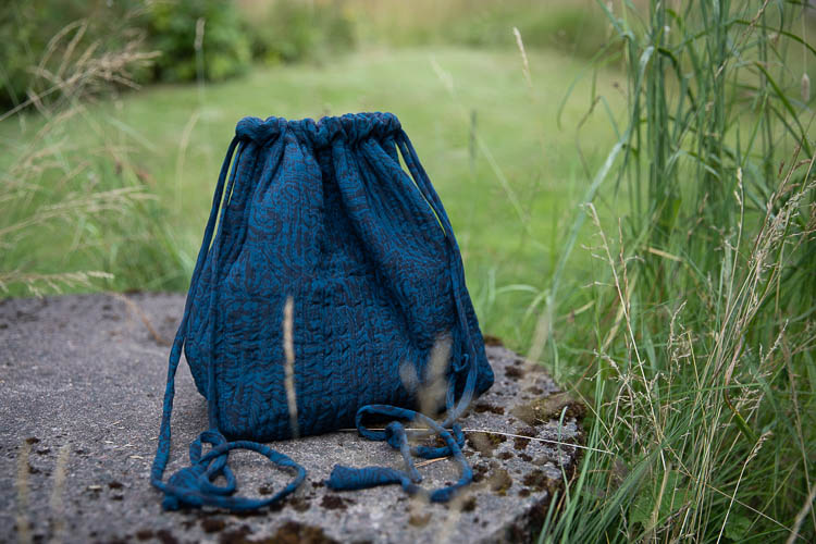 Relove and Roses Luna bag - unik projektväska #5