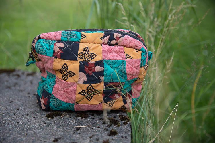 Relove and Roses Patchwork bag - unik projektväska #6