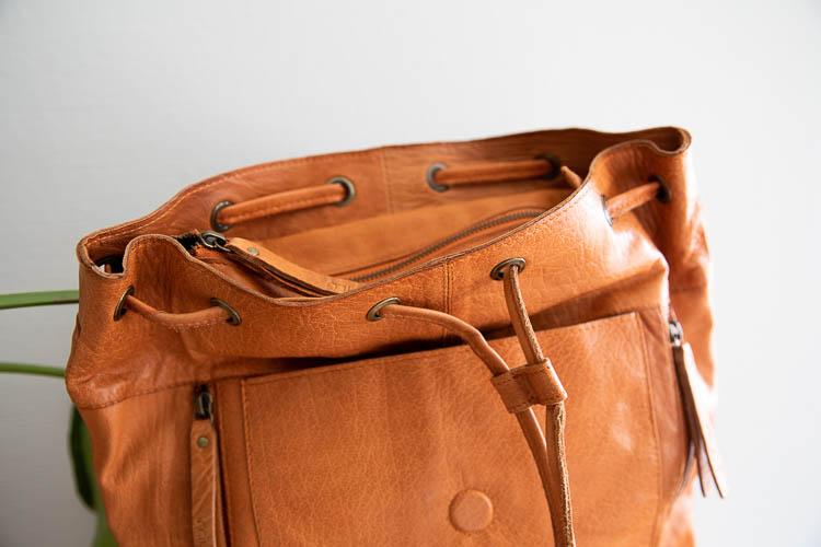 Muud Gimo Whisky - Ryggsäck brunt läder