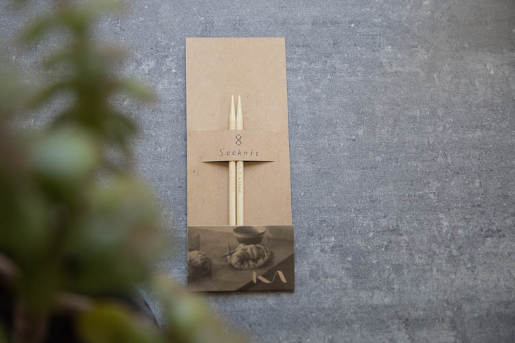 Seeknit Shirotake - Ändstickor 12.5 cm