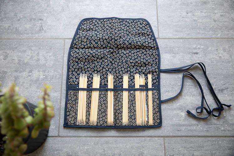 Seeknit Shirotake Strumpstickor 15 cm Nordic Full Set Blå - set med strumpstickor 2.00 - 5.00 mm