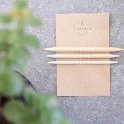 Seeknit Flätstickor i bambu