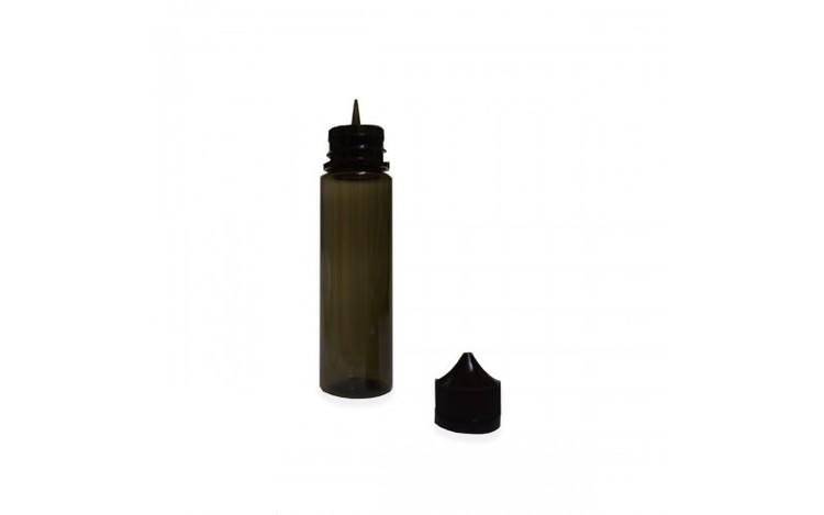 Flaska svart chubby style 60ml