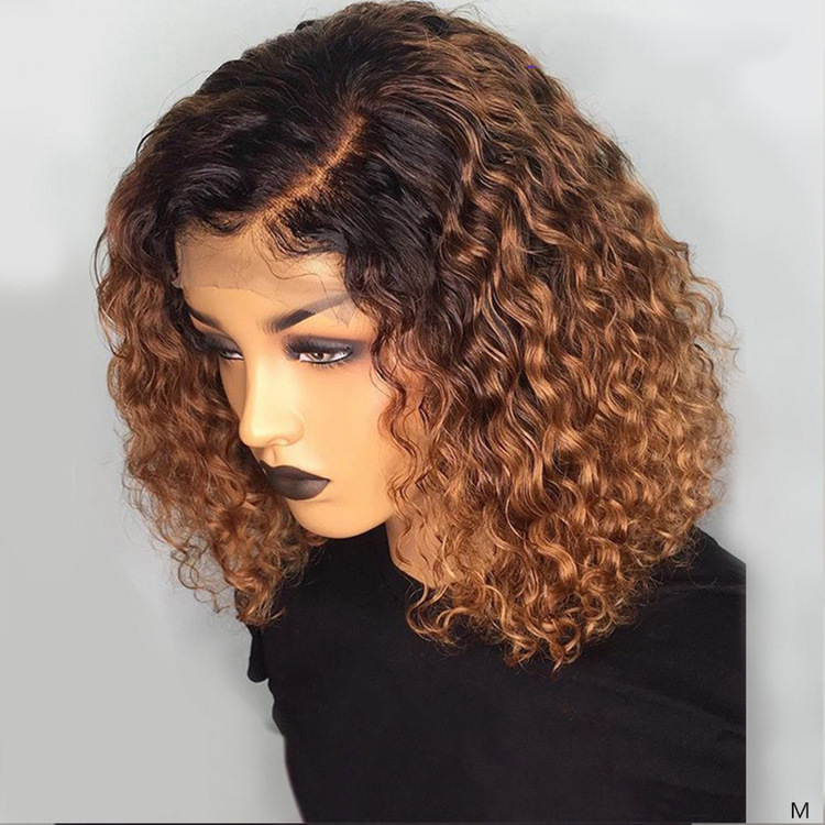 Remy Curly Human Hair Wig