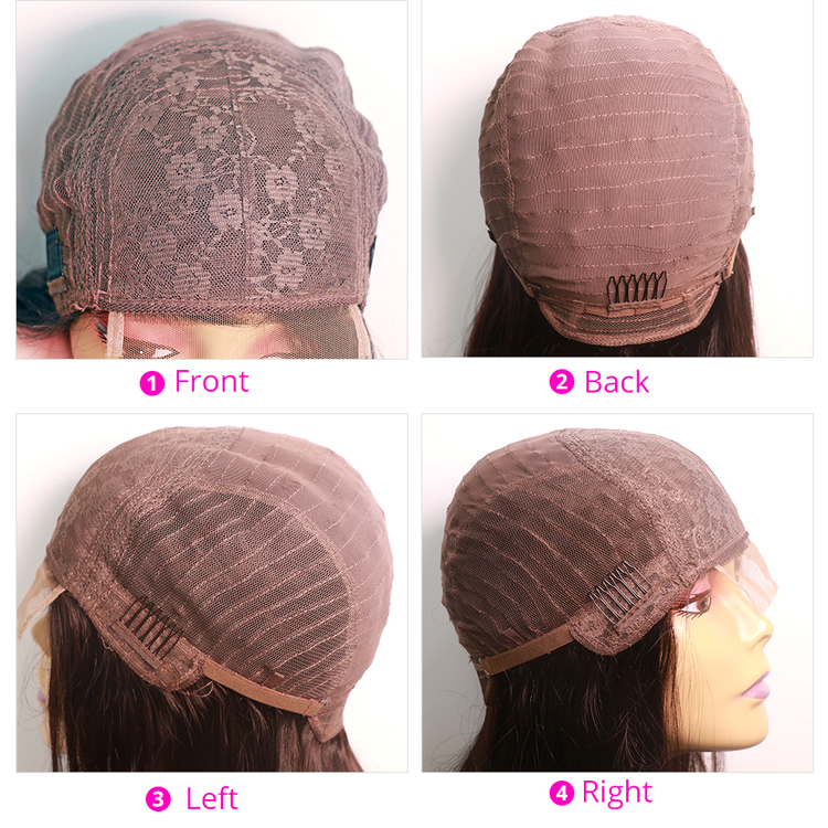 Human Hair Body Wave Wig 4x4 lace front