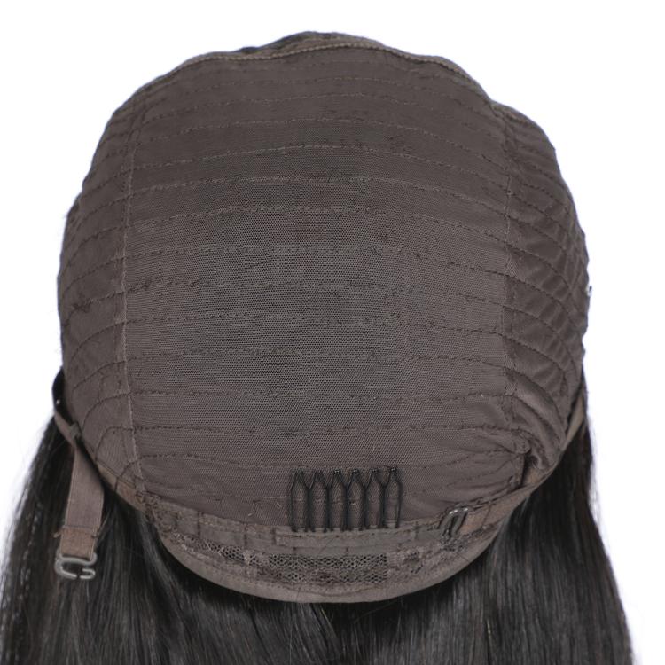 Straight Natural Black 100% Human Hair Wig