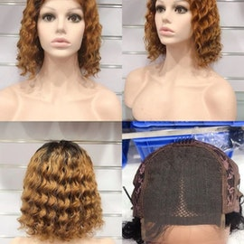 Brazilian 4x4 Curly Human Hair Wig