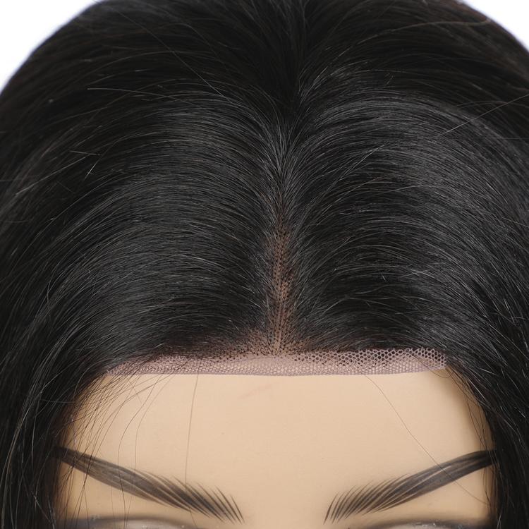 Straight Natural Black Remy Brazilian Human Hair