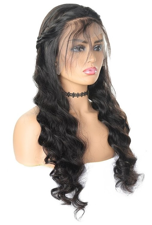 Remy Brazilian Loose Wave Human Hair Wig