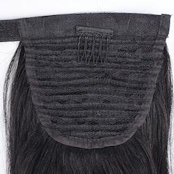 Black ponytail hästsvan löshår