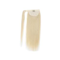 Blond ponytail hästsvan löshår