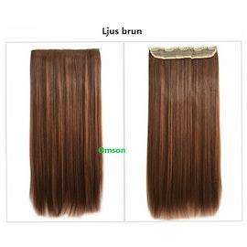 Halo human hair äkta remy hårförlängning