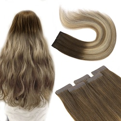Tape in humanhair extention