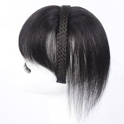 Frontal clip in human hair