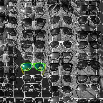 Raske briller - Grønn