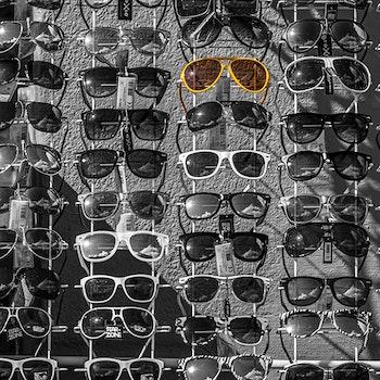 Raske briller - Gul