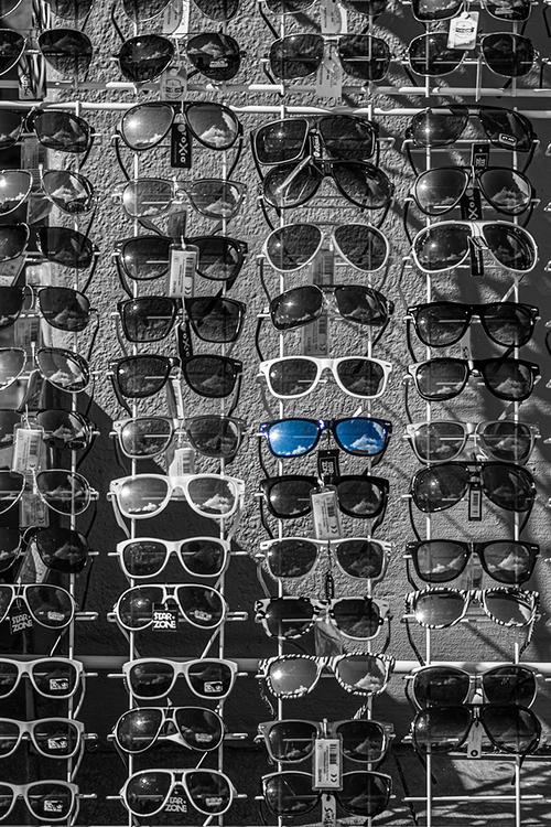 Raske briller - Blå refleksjon