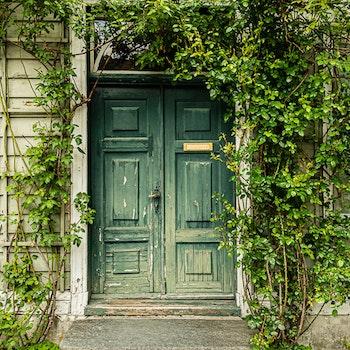 Grønn inngang