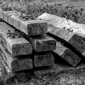 Gamle jernbanesviller