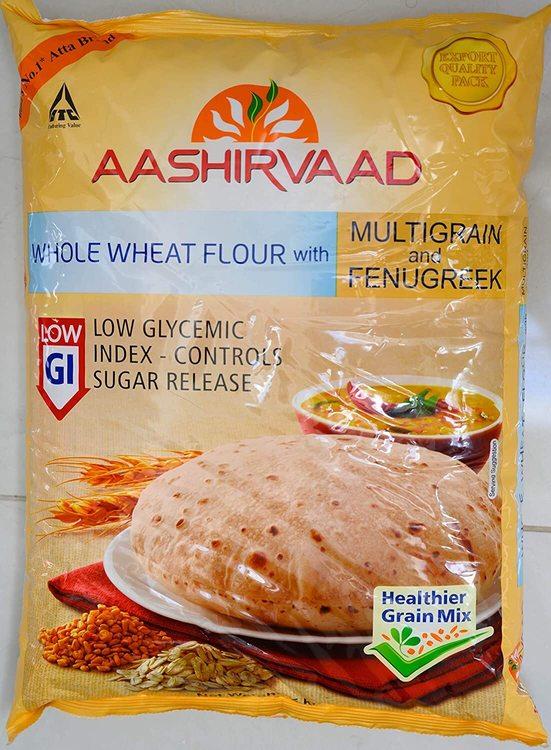 Ashirvad Multigrain Atta With Fenugreek 2kg