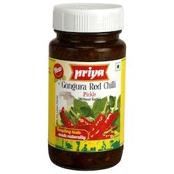 Priya Red Chilli Gongura Pickle 300gms