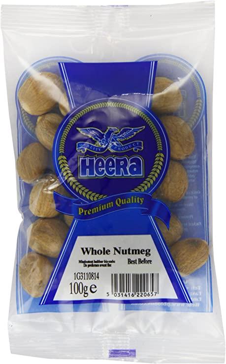 Heera Nutmeg Whole 100gms