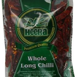 Heera Red Chilli Whole (Long) 200gms