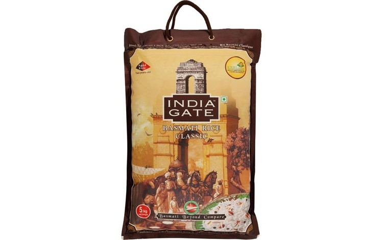 India Gate Classic Basmati Rice 5kg