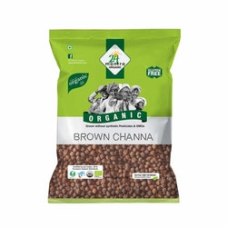 24 Organic Brown Channa 1Kg