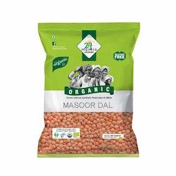 24 Organic Masoor Dal/Red split lentils 1Kg