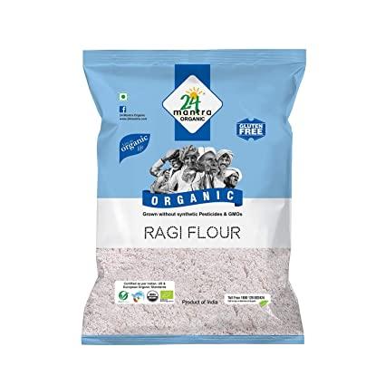 24 Organic Ragi Flour 1Kg