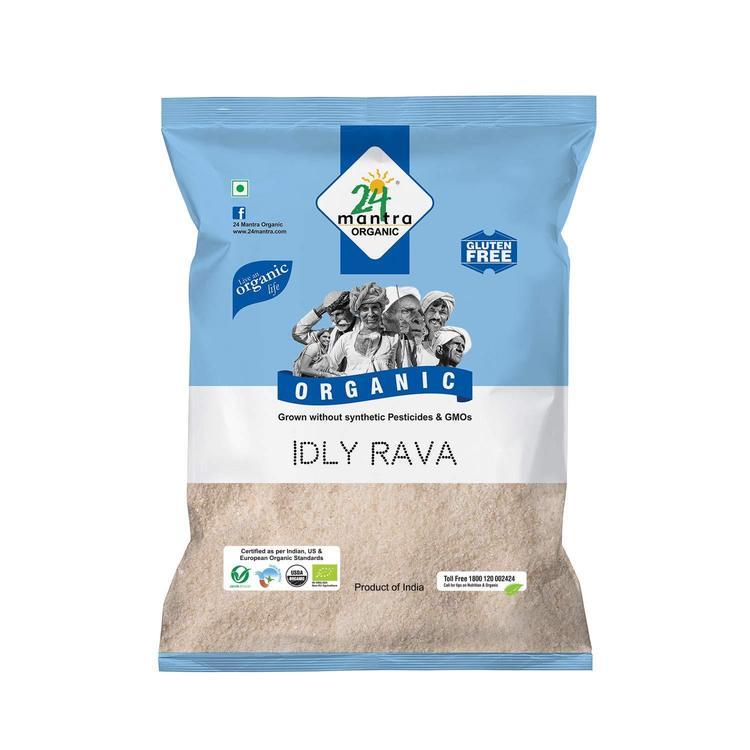 24 Organic Idli Rava 1Kg