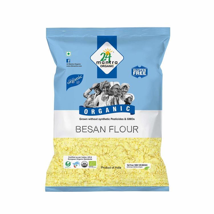 24 Organic Besan 1Kg
