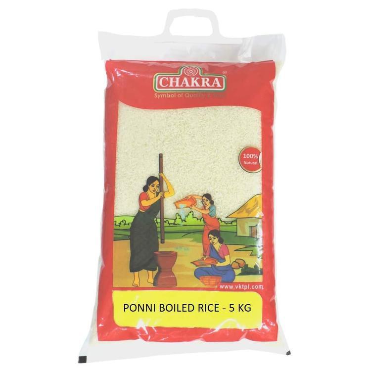 Chakra Ponni Boiled Rice 5kg