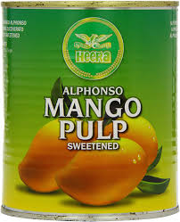 Heera Alphonso Mango Pulp 850gms