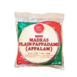 Heera Mini Madras Papadum100gms