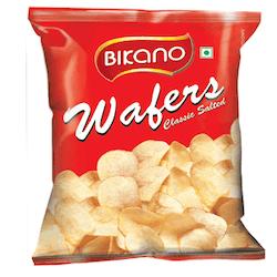 Bikano waffer/chips plain