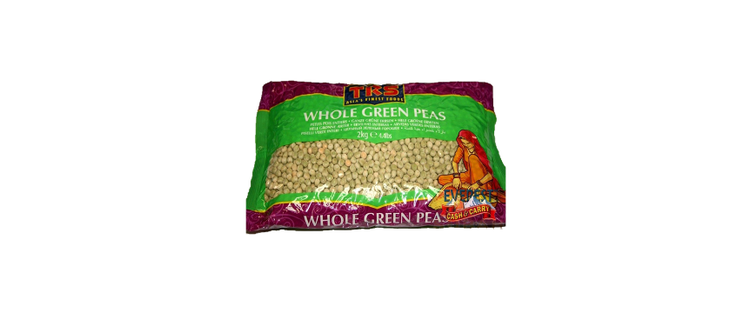 TRS Whole Peas Green 2kg