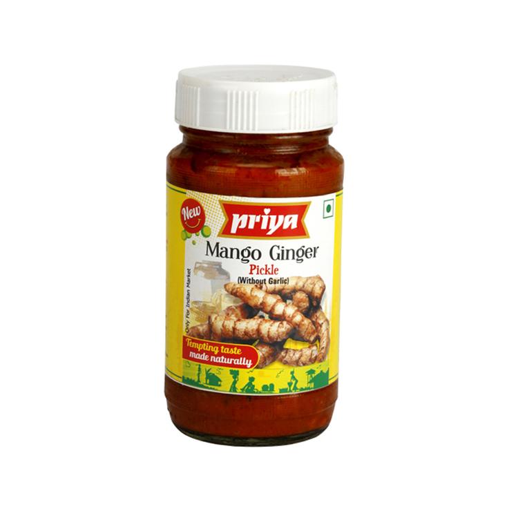 Priya Mango Ginger Pickle 300gms