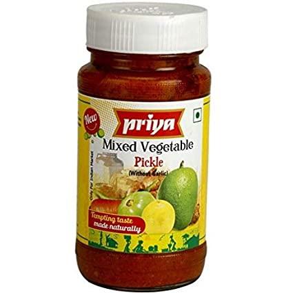 Priya Mixed Veg Pickle 300gms