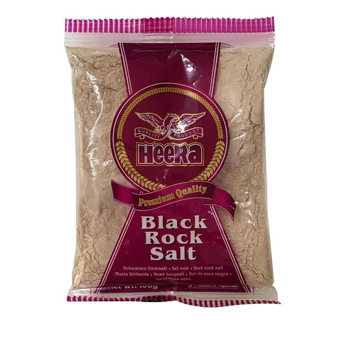 Heera Black Rock Salt Powder 100gms