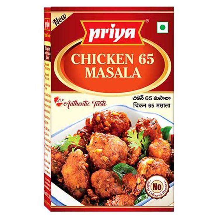Priya Chicken 65 Masala 50gms