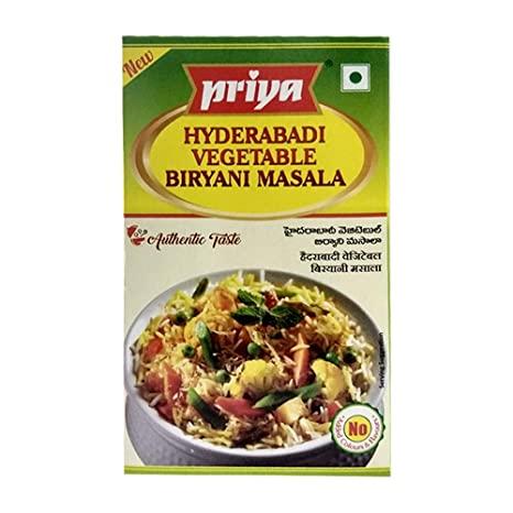 Priya Hyd.Veg Biryani Masala 50gms