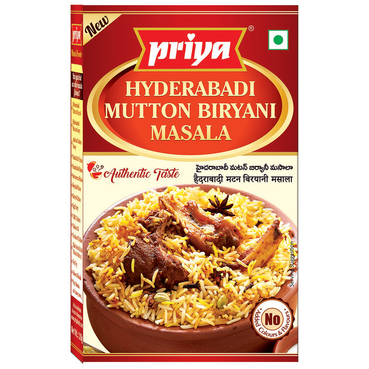 Priya Hyd.Mutton Biryani Masala 50gms