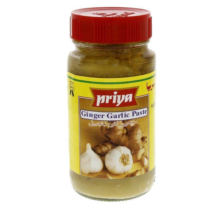 Priya Ginger Garlic Paste 300gms