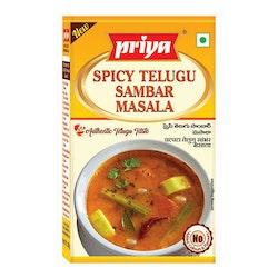 Priya Spicy Telugu Sambar Masala 50gms
